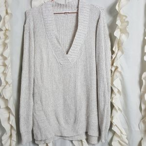 Silence and Noise chunky knit oversize sweater